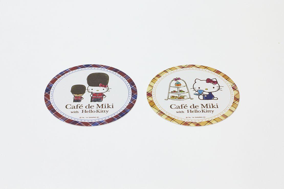 Café de Miki with Hello Kitty カトラリー・コースター