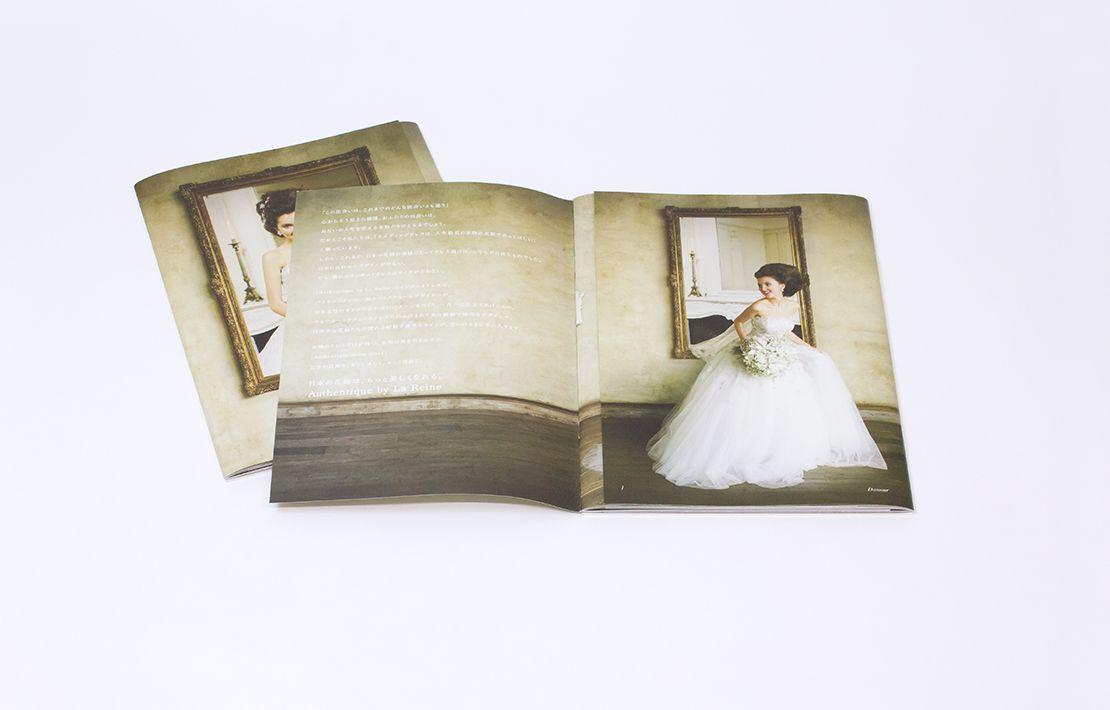 Authentique by La Reine ドレスカタログ 中面