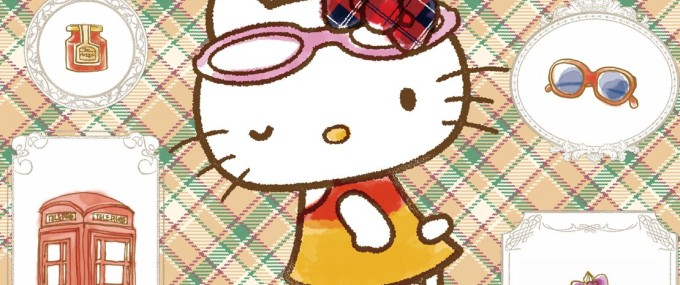 Café de Miki with Hello Kitty
