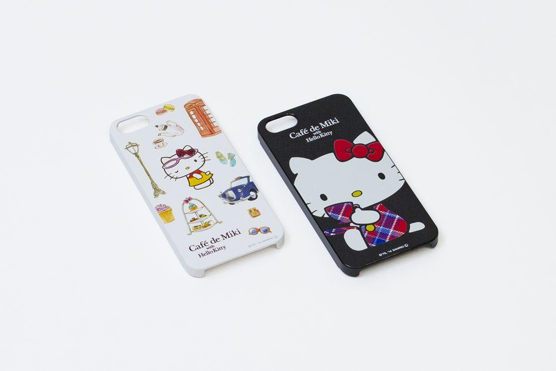 Café de Miki with Hello Kitty iPhoneケース