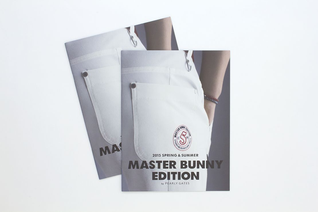 MASTER BUNNY EDITION カタログ 表紙