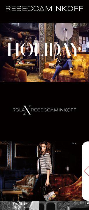 REBECCAMINKOFF × ROLA HOLIDAY スマートフォン
